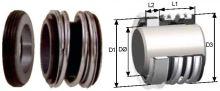 mechanical seal MG1 -20 /pr.d-20mm