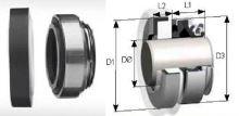 mechanical seal STA 12 R SIC /pr.d-12mm
